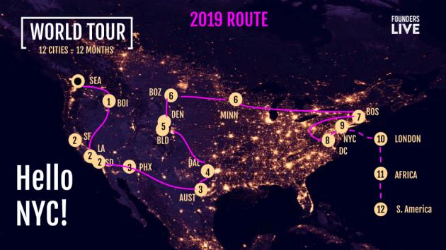 Tour Map - 2019 (2)